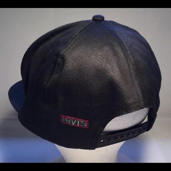 56f743b1 Levi's Accessories | Levis Strauss Denim Snapback Trucker Hat ...